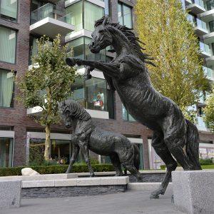1JA13006 Stallion Sculpture China Manufacturer (4)