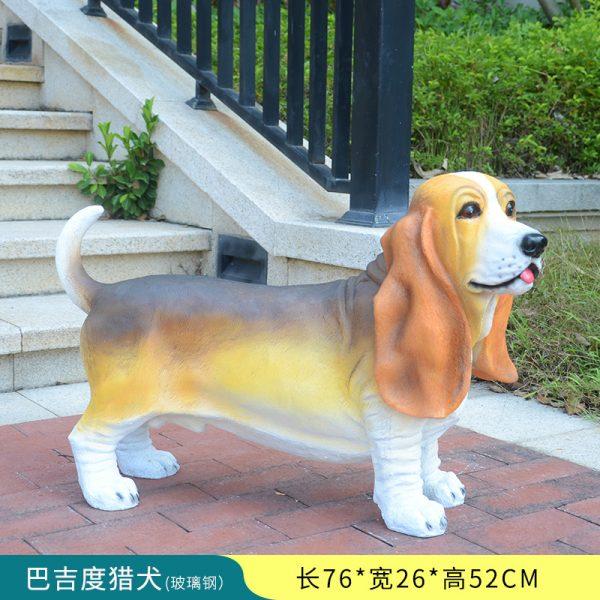 1JC16001 Buggy Hound Statue Online Sale