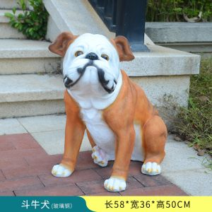 English Bulldog Garden Statue Sale