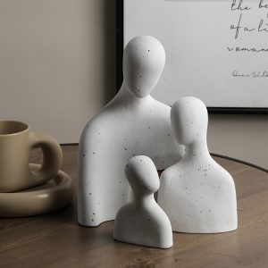 1JC21015 abstract family statue china maker (1)