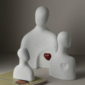 1JC21015 abstract family statue china maker (4)