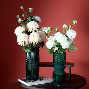 1JC21016 vase en verre en gros (1)