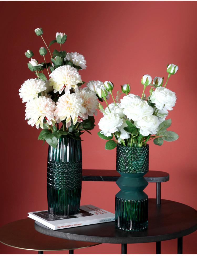 1JC21016 vase en verre en gros (12)