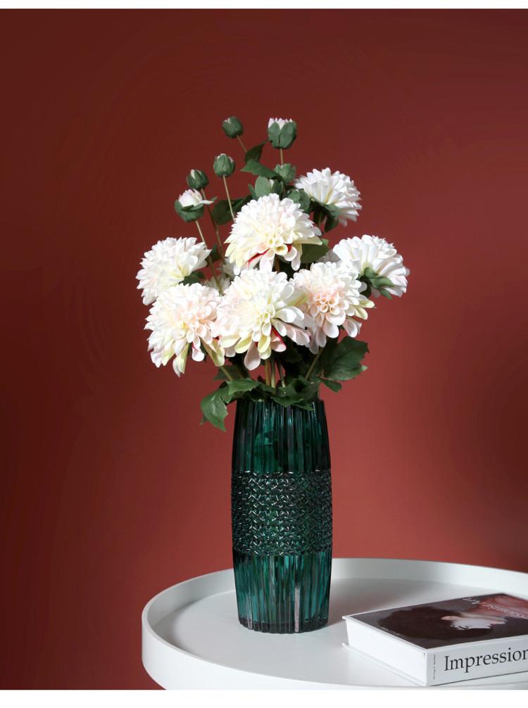 1JC21016 vase en verre en gros (14)