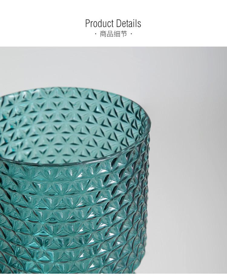 1JC21016 vase en verre en gros (19)