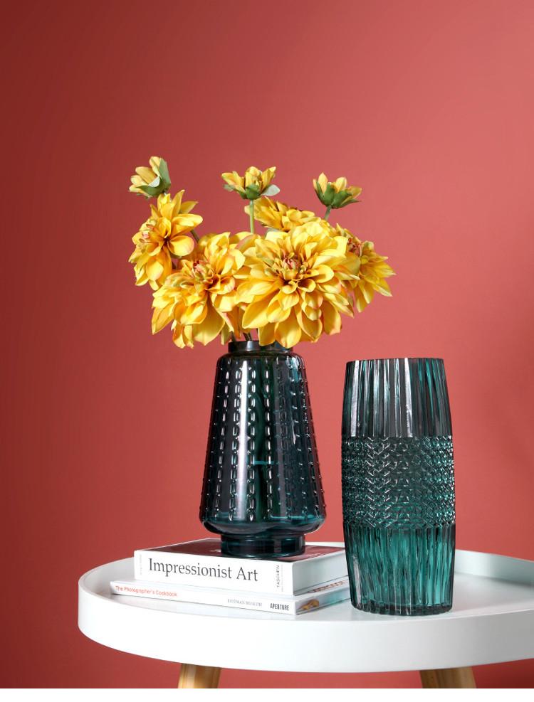 1JC21016 vase en verre en gros (6)