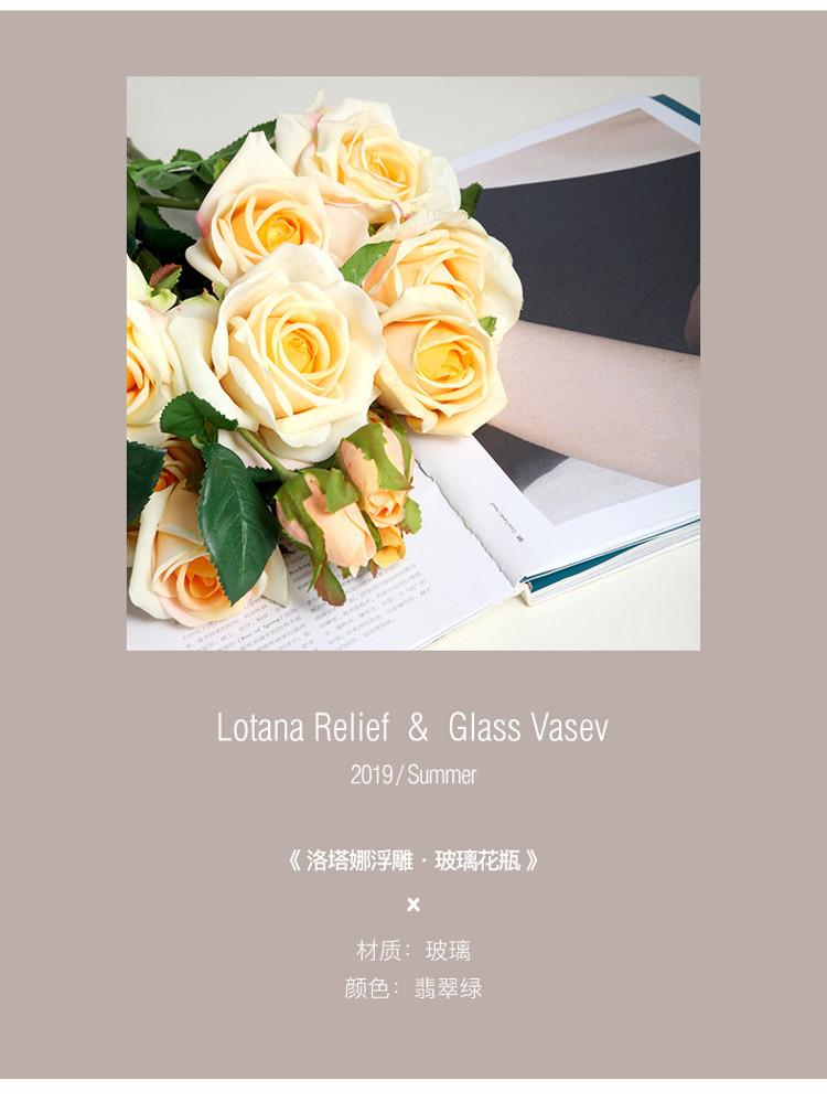 1JC21016 vase en verre en gros (7)
