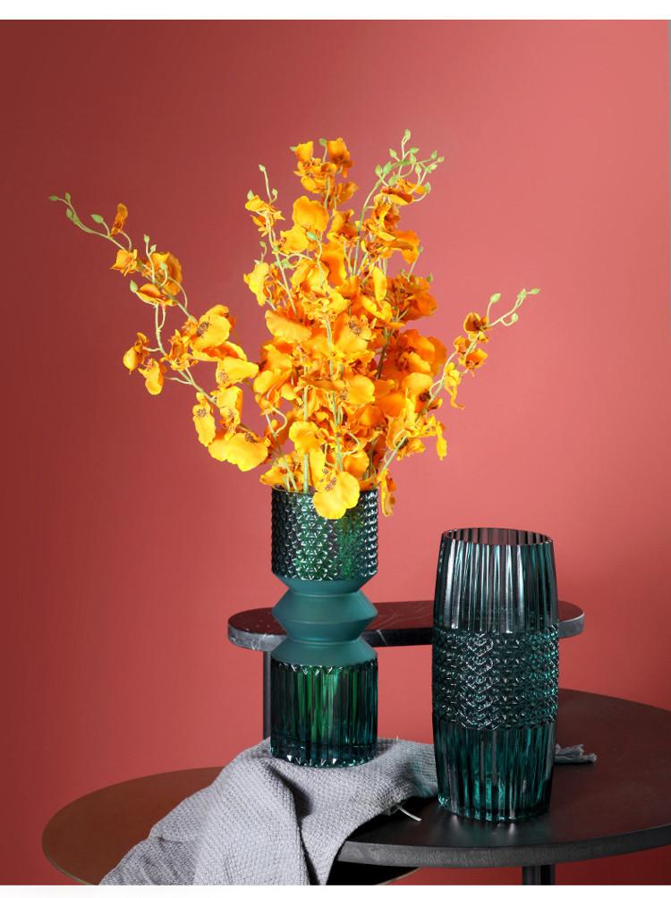1JC21016 vase en verre en gros (9)