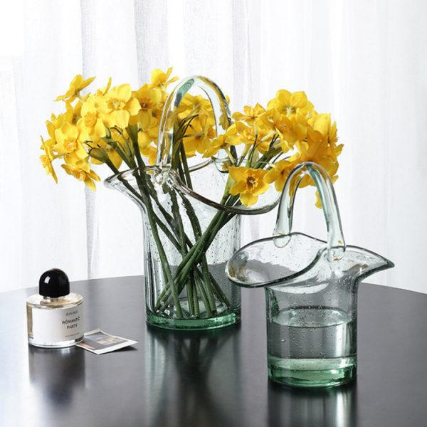 1JC21019 Glass Purse Shaped Vase Sale (1)