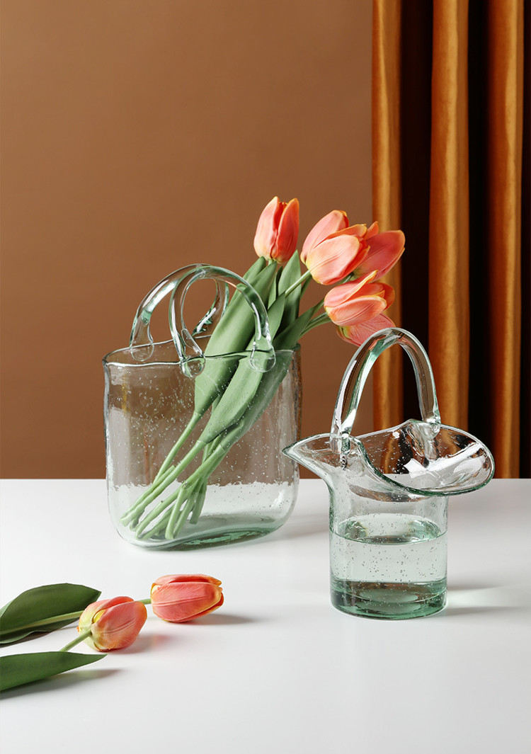 1JC21019 Glass Purse Shaped Vase Sale (12)