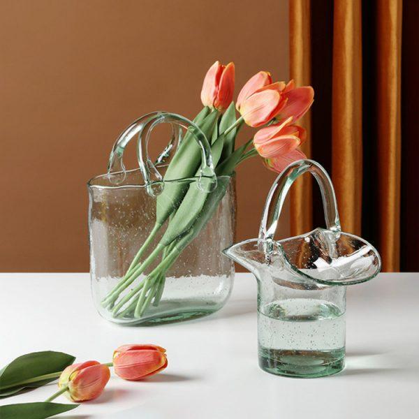 1JC21019 Glass Purse Shaped Vase Sale (4)