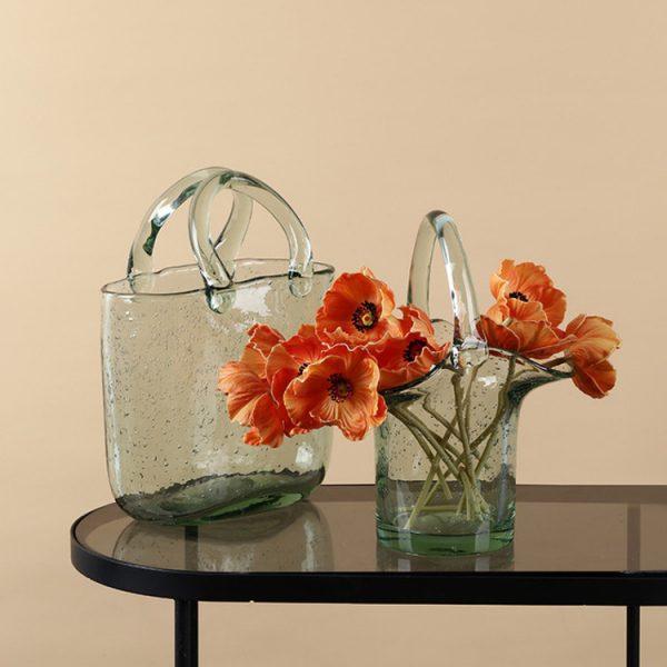 1JC21019 Glass Purse Shaped Vase Sale (5)