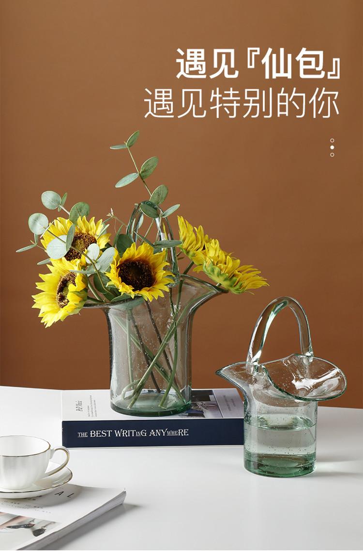 1JC21019 Glass Purse Shaped Vase Sale (6)