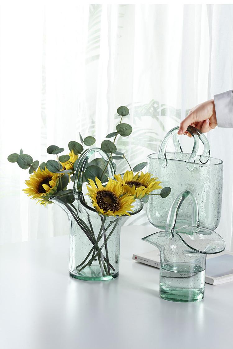 1JC21019 Glass Purse Shaped Vase Sale (9)