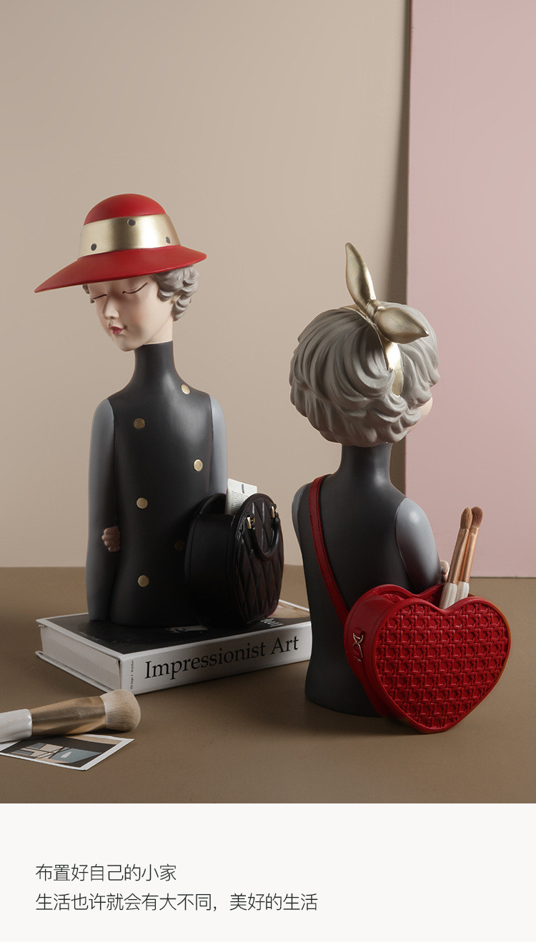 1JC21020 Glamour Girl Head Vase Sale (17)