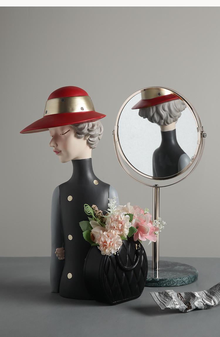 1JC21020 Glamour Girl Head Vase Sale (19)