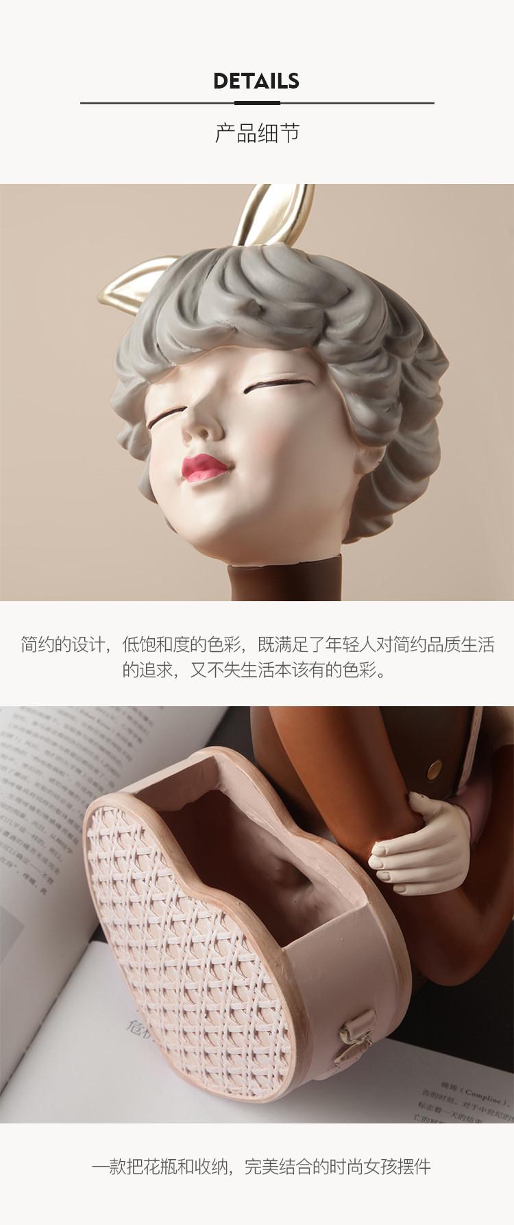 1JC21020 Glamour Girl Head Vase Sale (20)