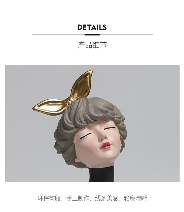 1JC21020 Glamour Girl Head Vase Sale (21)