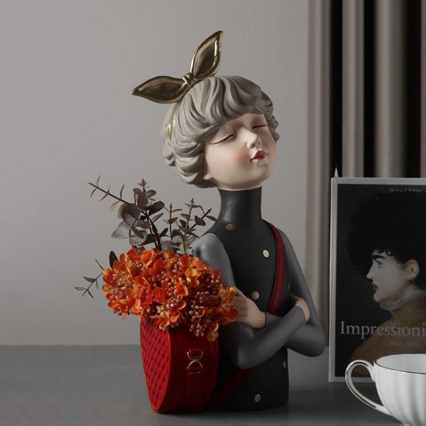 1JC21020 Glamour Girl Head Vase Sale (3)