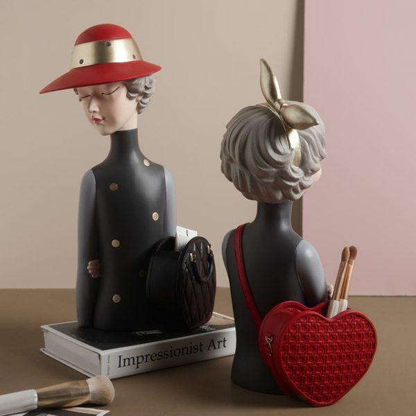 1JC21020 Glamour Girl Head Vase Sale (4)