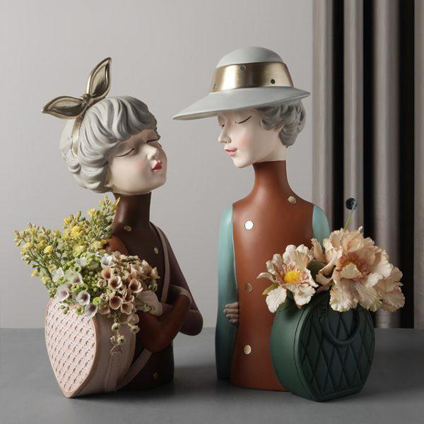1JC21020 Glamour Girl Head Vase Sale (5)