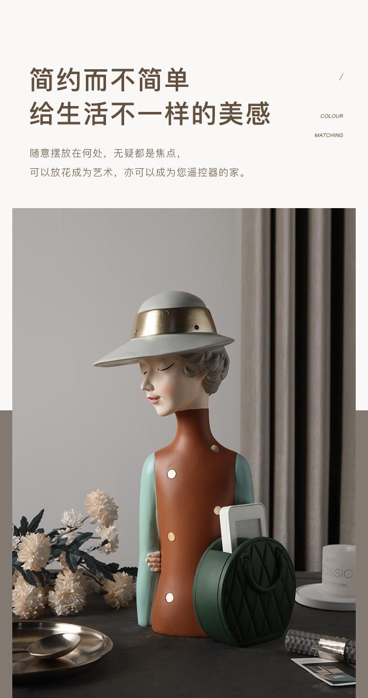 1JC21020 Glamour Girl Head Vase Sale (8)