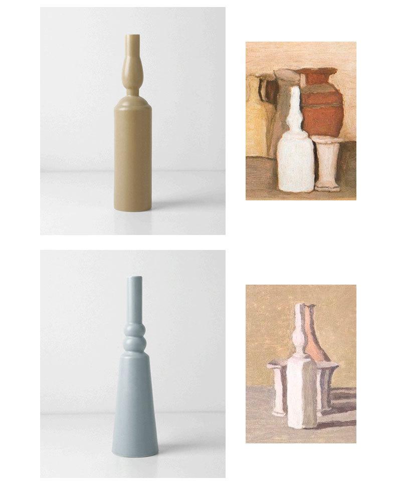 1JC21023 Morandi Vase Ceramic Home Decoration (11)