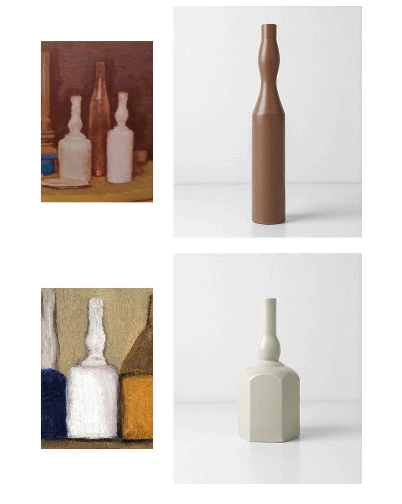 1JC21023 Morandi Vase Ceramic Home Decoration (12)