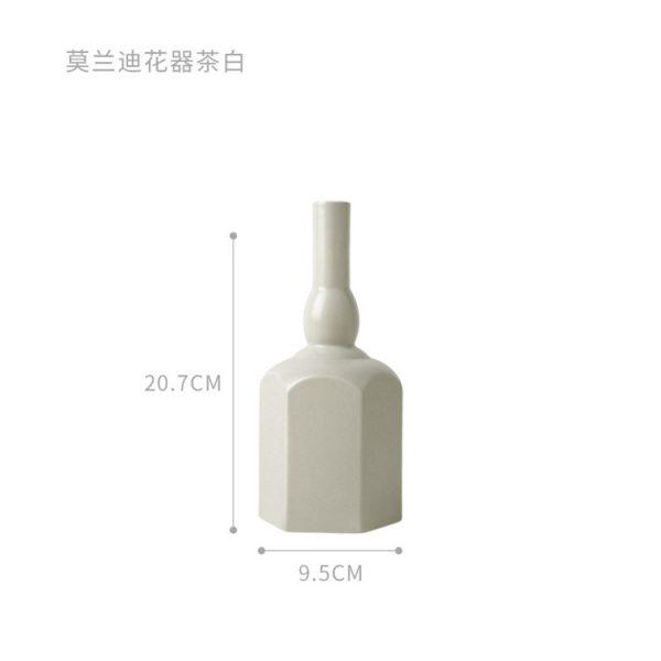 1JC21023 Morandi Vase Ceramic Home Decoration (31)