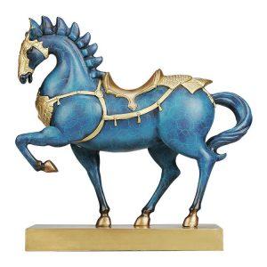 1I904033 Brass Horse Ornament General Horse (12)