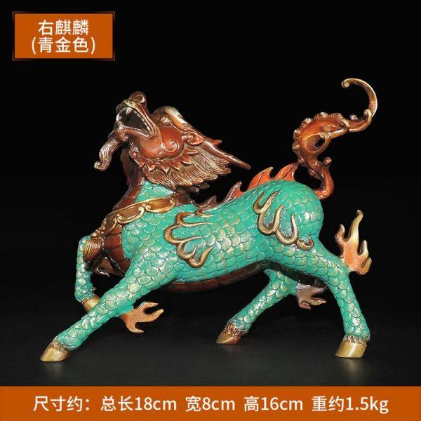 1I904053 Kirin Qilin-Statue Feng Shui (2)