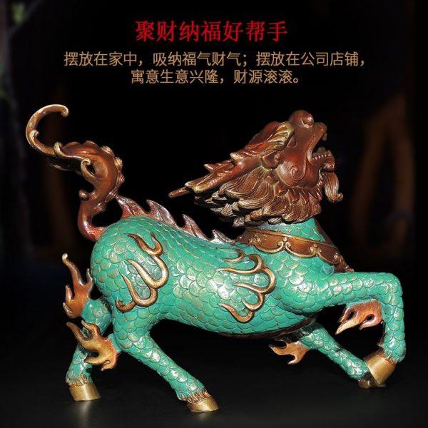 1I904053 Kirin Qilin-Statue Feng Shui (24)