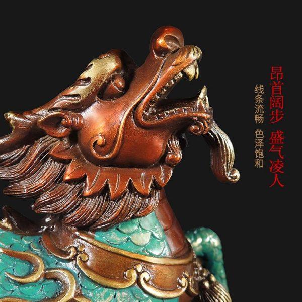 1I904053 Kirin Qilin-Statue Feng Shui (26)