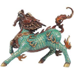 1I904053 Kirin Qilin Statue Feng Shui (27)