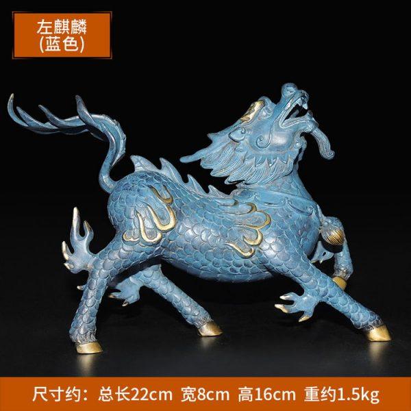1I904053 Kirin Qilin-Statue Feng Shui (3)