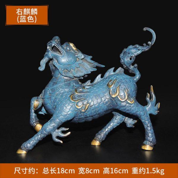1I904053 Kirin Qilin-Statue Feng Shui (4)