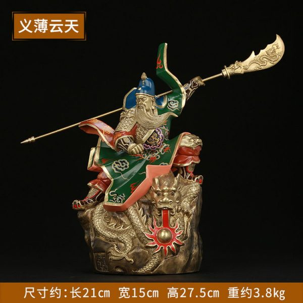 1I904054 Guan Gong Statue For Sale