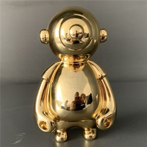 1J615003 Gold Plated Statue Factory (4)