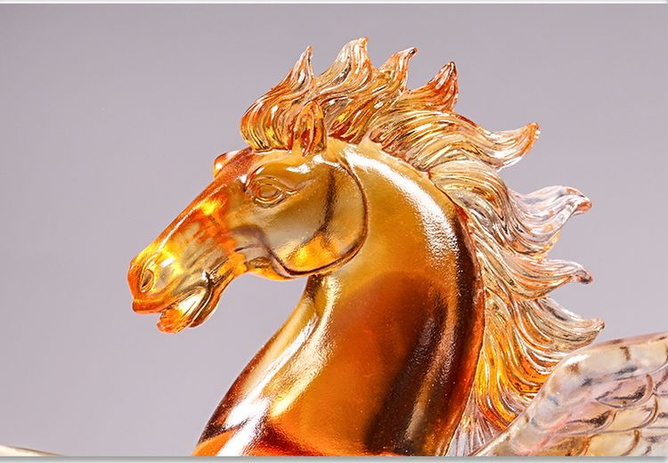 1JB03007 Crystal Horse Statue Liuli Sale (16)
