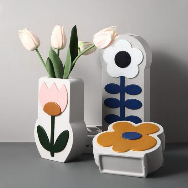 1JC21026 Ceramic Flower Vase China Factory (1)