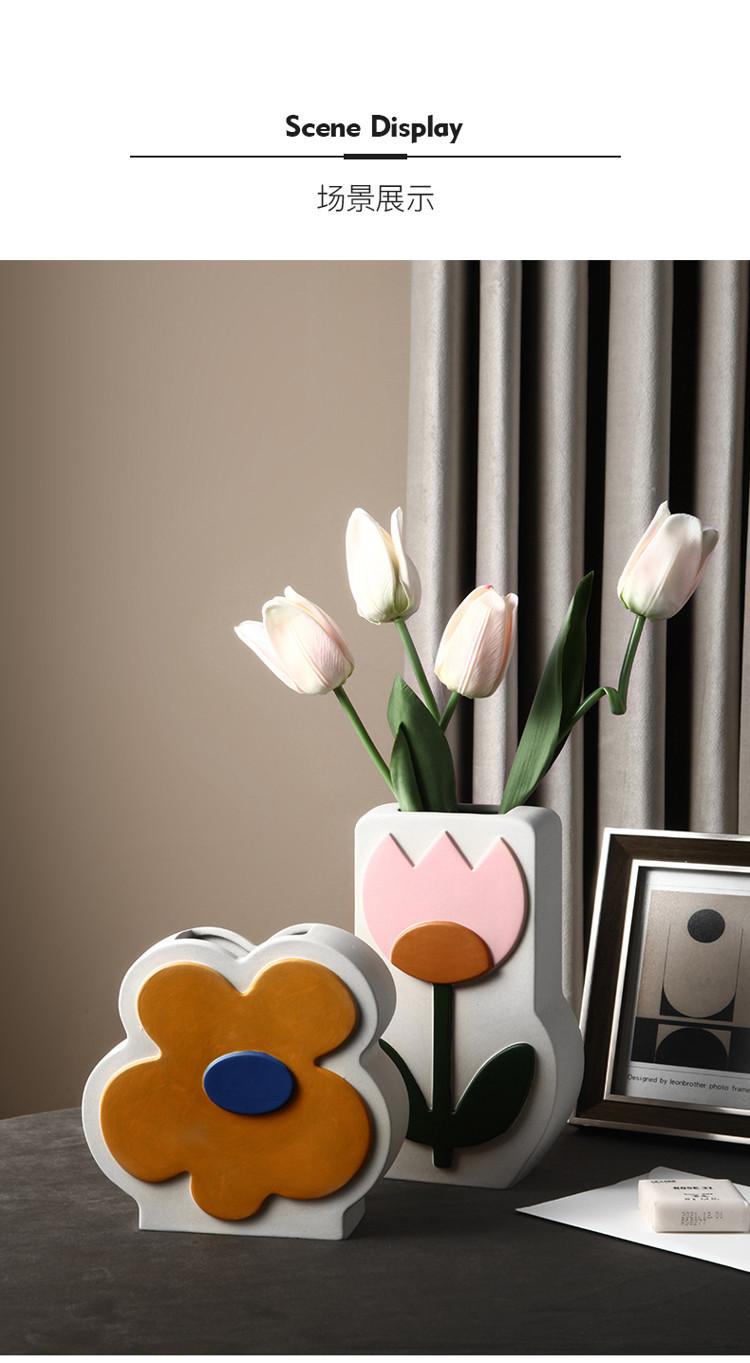 1JC21026 Ceramic Flower Vase China Factory (13)