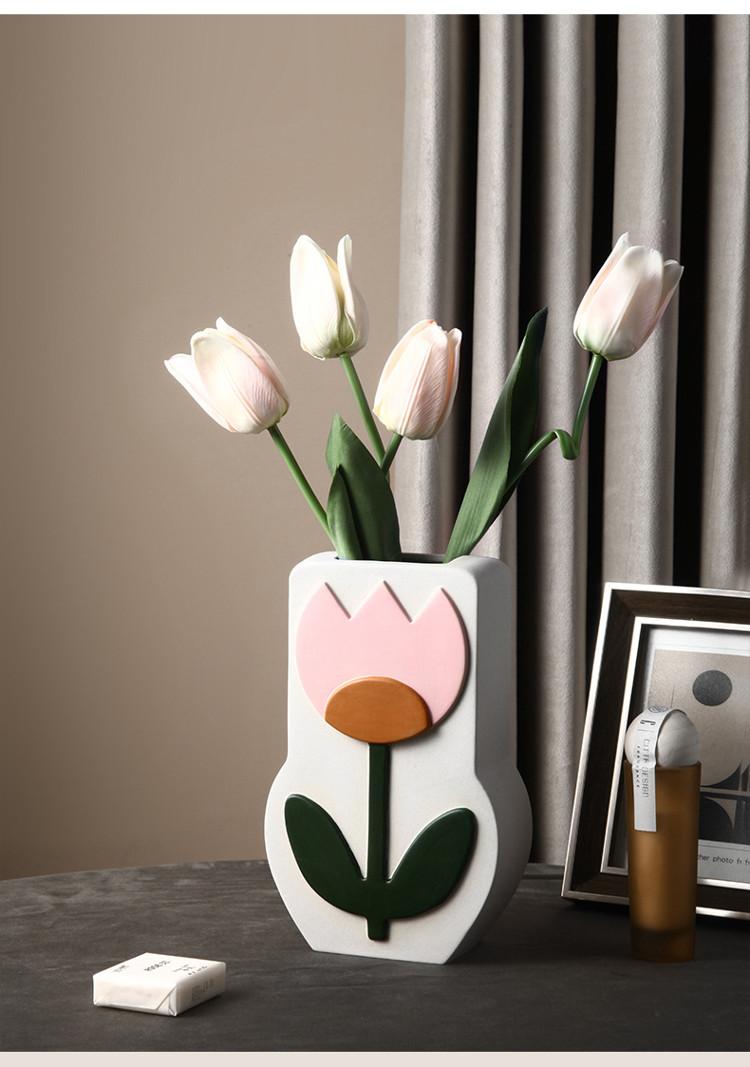 1JC21026 Ceramic Flower Vase China Factory (14)