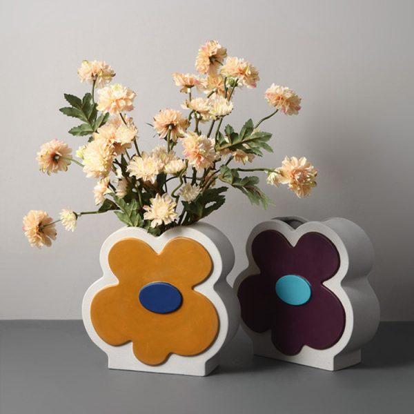 1JC21026 Ceramic Flower Vase China Factory (2)