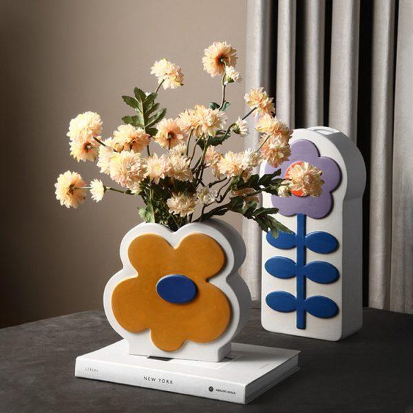 1JC21026 Ceramic Flower Vase China Factory (4)