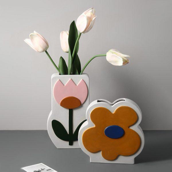 1JC21026 Ceramic Flower Vase China Factory (5)