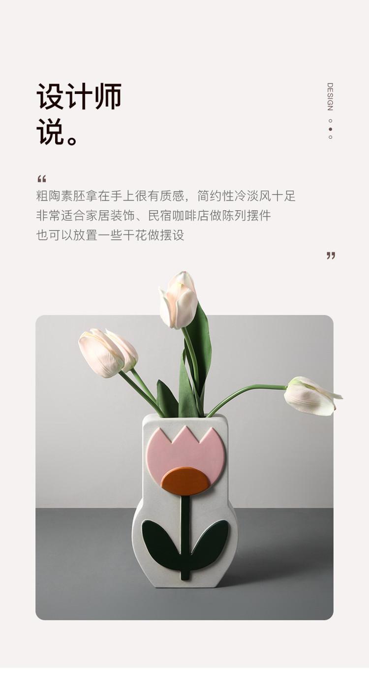 1JC21026 Ceramic Flower Vase China Factory (7)