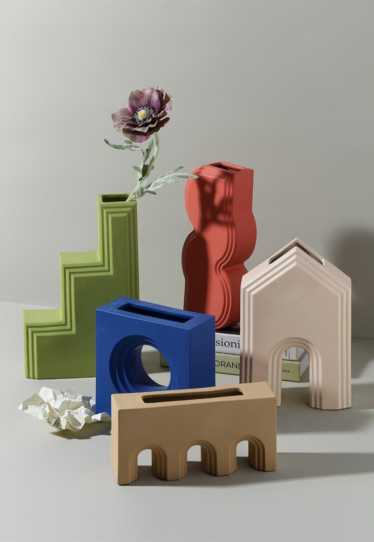 1JC21027 Geometry Vase China Maker (18)