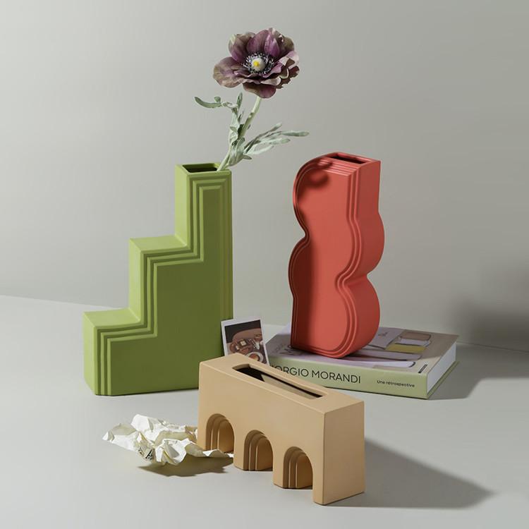 1JC21027 Geometry Vase China Maker (19)
