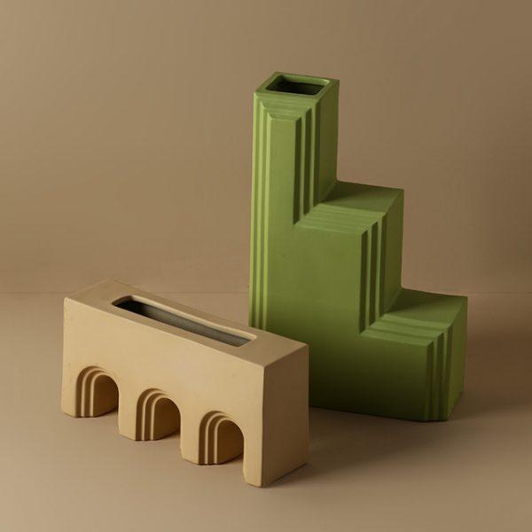 1JC21027 Geometry Vase China Maker (2)