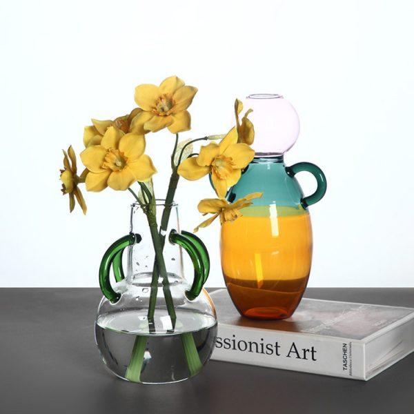 1JC21039 Small Glass Flower Vases Maker (2)